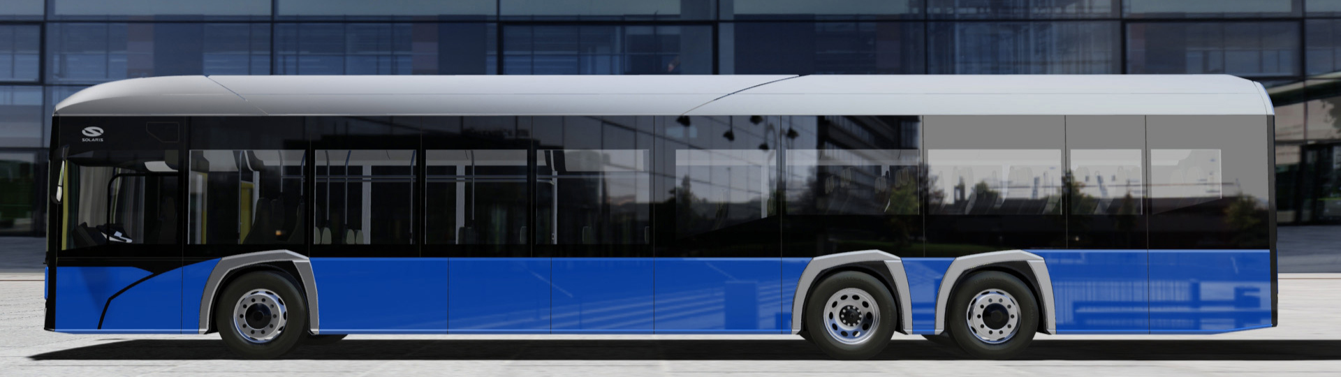 Solaris exceeds its range of electric buses with intercity vehicle. Solaris Urbino 15 LE electric will have its premiere this year