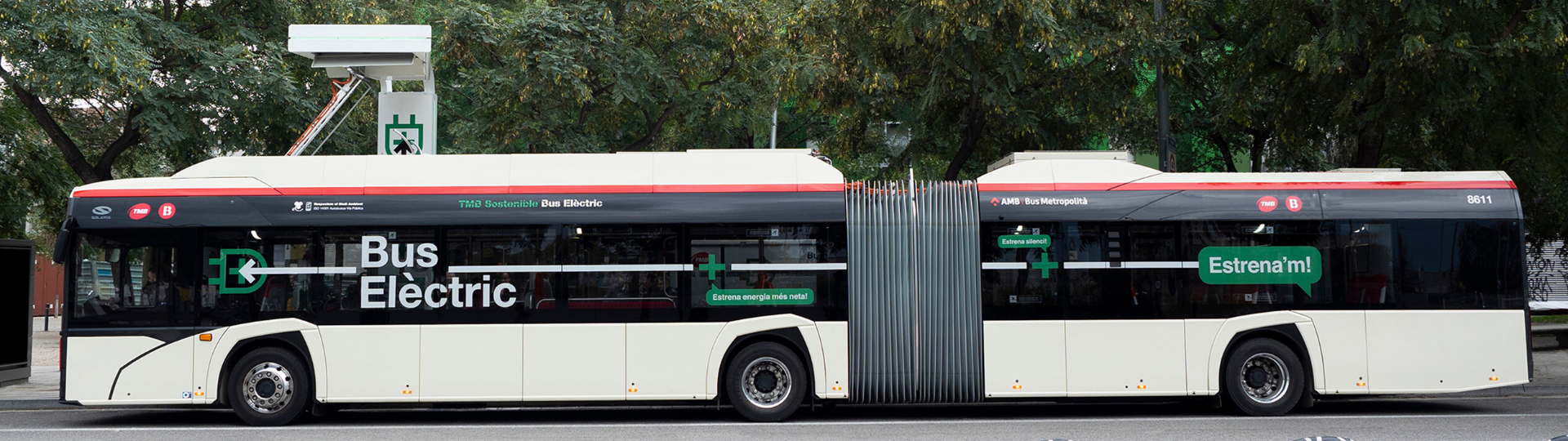 Barcelona ordering more electric Solaris buses