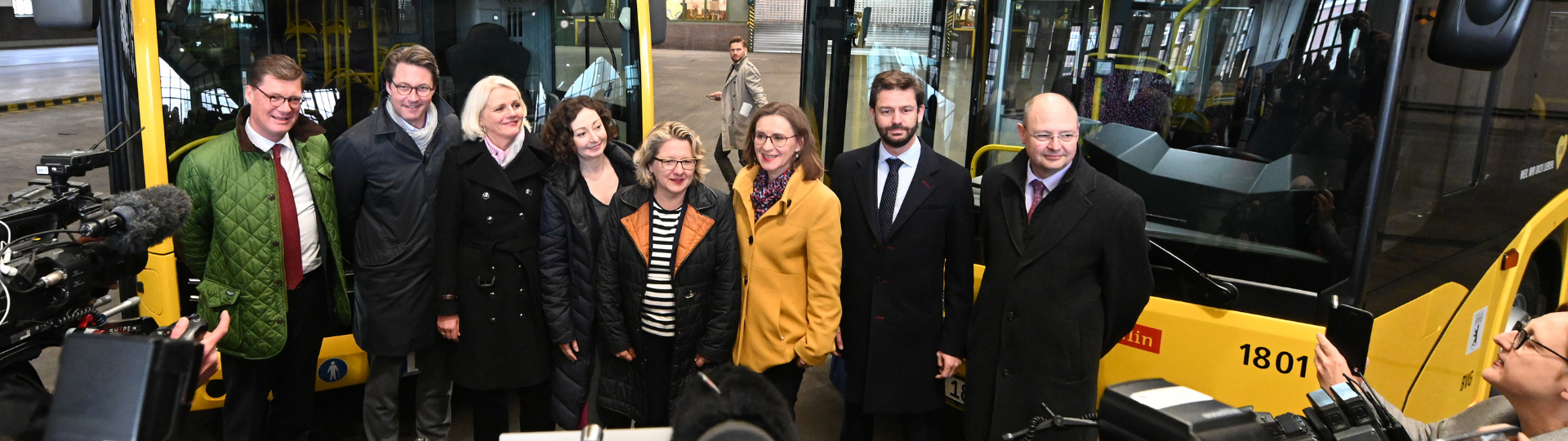 Solaris starts delivery of another batch of electric buses to Berlin