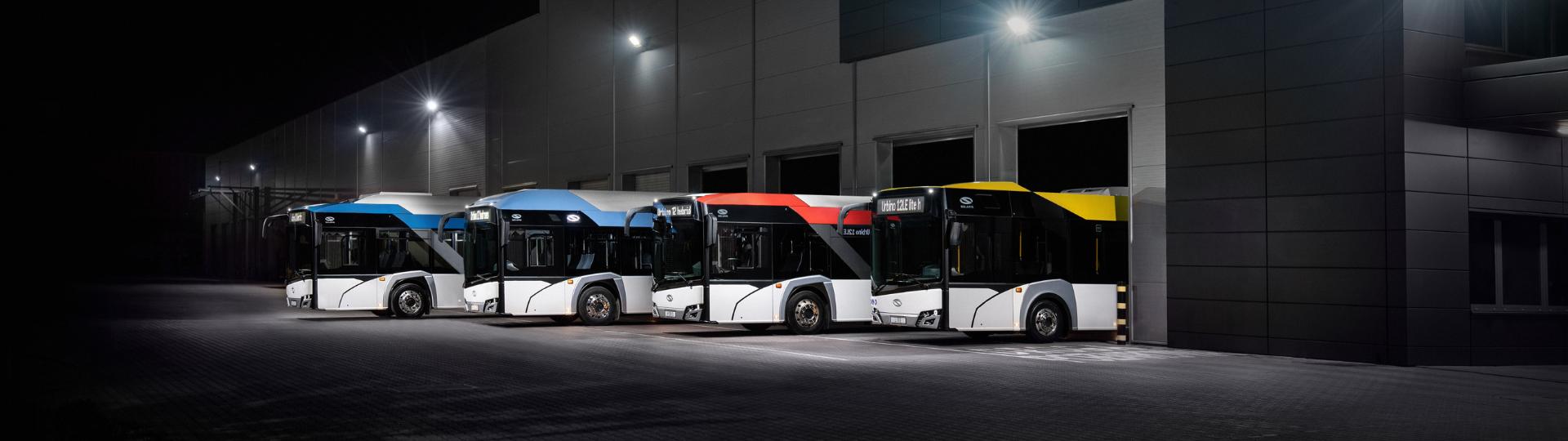 Solaris liderem rynku autobusów bateryjnych 2020!
