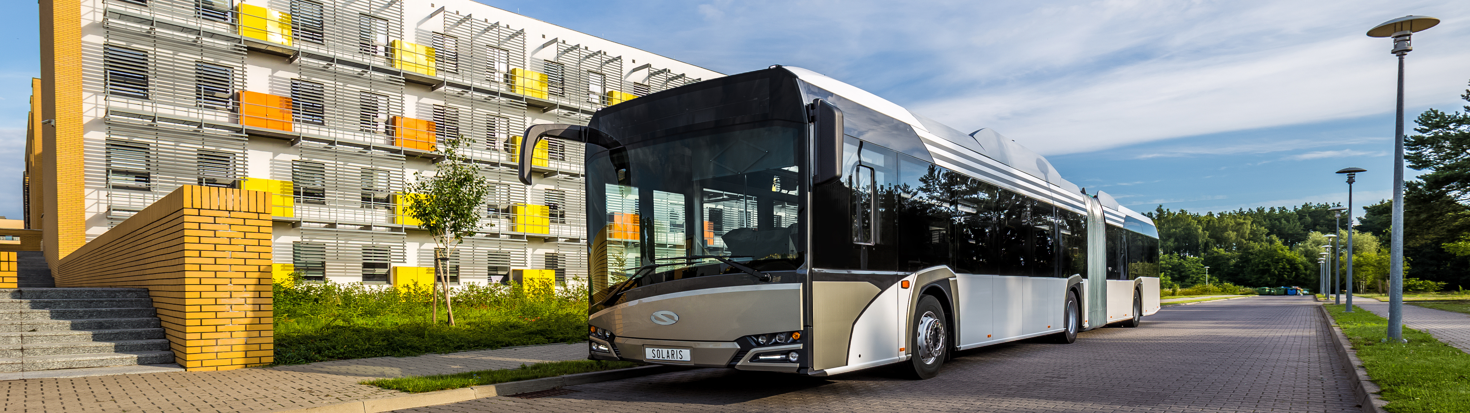 Electric Solaris buses travel to Luxembourg