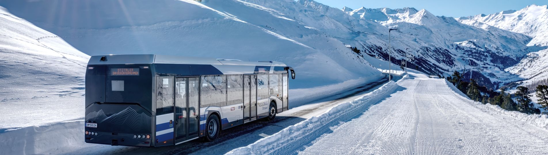 Solaris buses perfectly prepared for difficult winter conditions