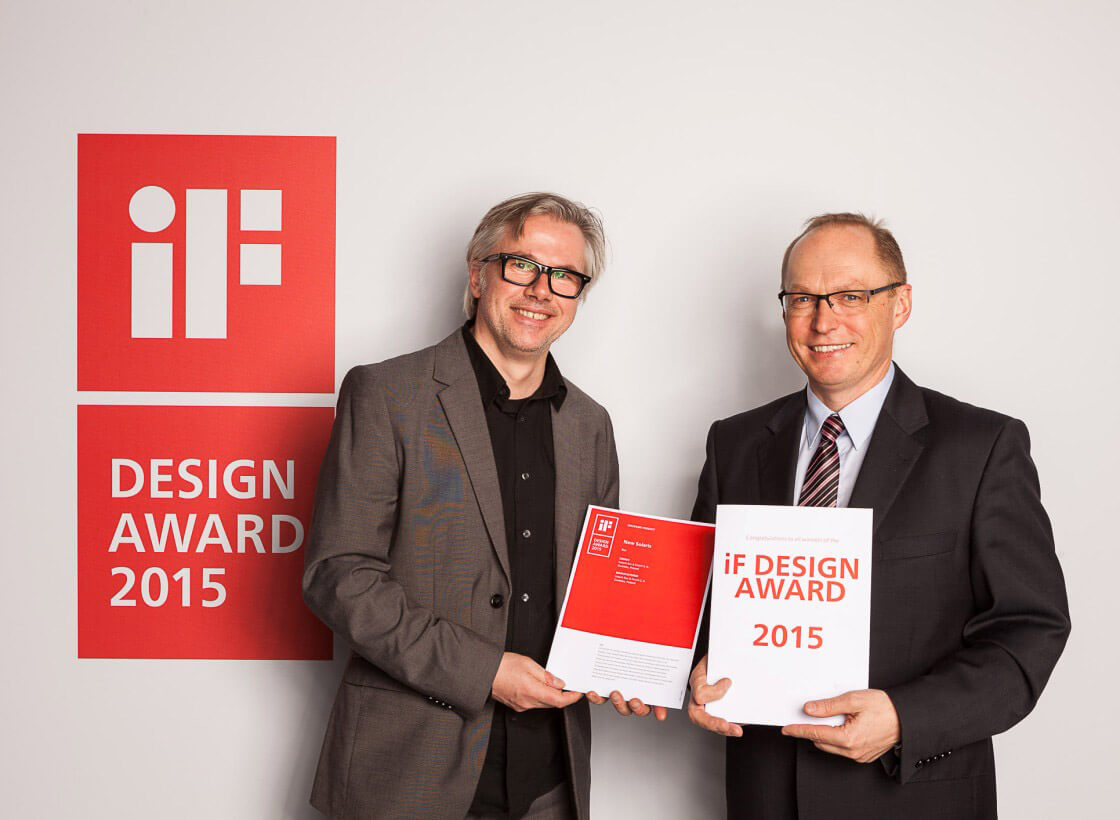 IF Design Award 2015 for the new Solaris Urbino