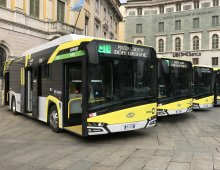 Solaris Urbino 12 eletric for Bergamo